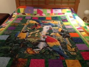 Parrot Quilt (2)